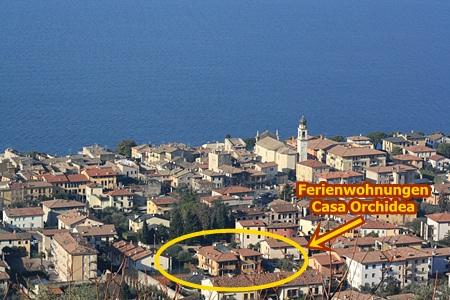 Wir liegen in Torri del Benaco